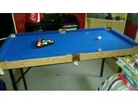 4 foot junior pool table