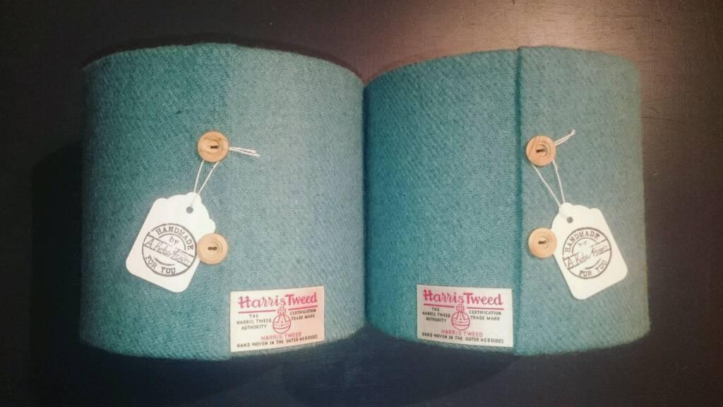 Handmade Harris Tweed shades