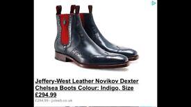 Men's Jeff west boots size 9