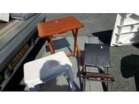 small table's and stool