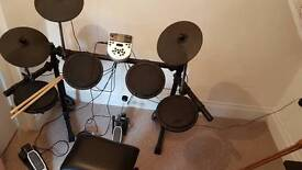 Alesis DM7X Electronic Drum Kit with Stool and Drum Sticks