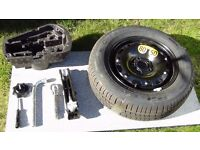 Spare wheel with tyre and tool kit - *FINAL REDUCTION*