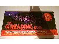 READING FESTIVAL WEEKEND TICKET WITH CAMPING