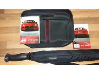 Jaguar Golf Umbrella And Wash Bag (Brand New)