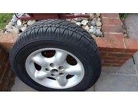 Alloy for freelander