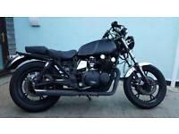 Project Susuki Shaft Drive GS850 Motorbike
