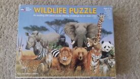 Children's Wildlife Puzzle