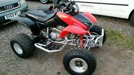 Honda trx 400 ex quad bike