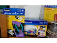 A4 laminator and pouches