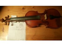 "Violin - Quality 1/2 size ""Divertimiento""."