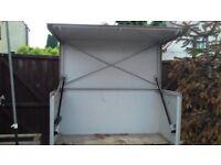 Vault Site Security Chest Job Site Tool Box Steel Metal Van Truck Garage