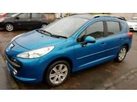 VERY CLEAN PEUGEOT 207 1.6 SPORT TURBO DIESEL NOT (HDI).. not vw.Toyota Vauxhall ford seat skoda