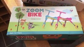 Girls zoom bike