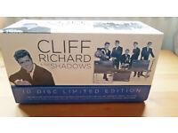 Cliff Richard & The Shadows 10 Disc Limited Edition Box Set
