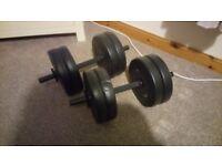 Dumbells 2 x 10kg
