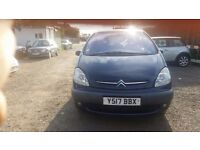 Citroen Xsara Picasso 1.8 i 16v SX 5dr, HPI CLEAR, BARGAIN, P/X TO CLEAR