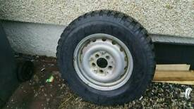 4x4 wheel and tyre