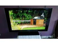 """SAMSUNG LE40A556P1F 40"""" WIDESCREEN LCD TV, HDMI, FREEVIEW BUILT IN WITH REMOTE FULLY WORKING"""
