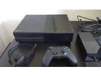 Xbox One 1TB - like new with extras