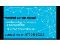 Wanted scrap metal