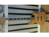 FENDER USA JAZZ DELUX AMBER FLAME