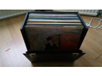100 12'' Records Vinyl Collection with Carry Case