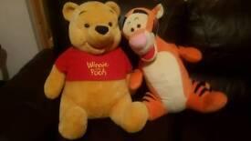 disney tiger and poo teddy