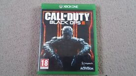 Call of Duty Black Ops 3 Xbox ONE Game Immaculate Condition