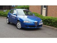 ALFA ROMEO 147 1.6 TS TURISMO ++PETROL MANUAL++2 KEYS++P/S/H++LONG MOT++STUNNING CONDITION++
