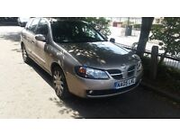 NISSAN ALMERA 1.5 petrol manual with tax & mot