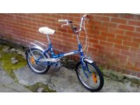 Retro Elswick Hopper Vintage Folding Bike / Shopper