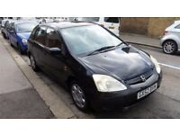 Honda Civic 1.6 petrol manual 2002