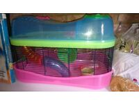 Hamster Cage with lots of Extras