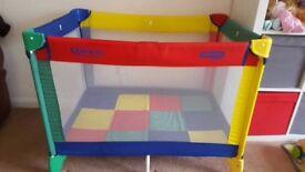 Graco travel cot + mattress