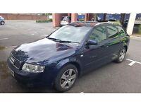 Audi 2004 2.0 fsi petrol blue 162000 milage