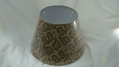 House of Hackney Jacquard Daley Lamphade - Serpentis Taupe 2 AVAILABLE NEW/UNUSE