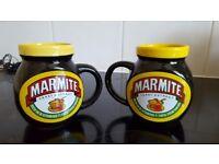 Vintage marmite mugs