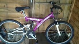 Teenagers bike