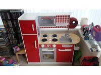 Children's Wooden Kitchen.