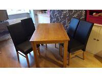 Rectangle Table and 4 chairs