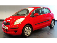 2007 07 TOYOTA YARIS 1.3 T3 VVT-I MM 5D AUTO 86 BHP *PART EX WELCOME*FINANCE AVAILABLE*WARRANTY
