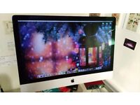 27 inch iMac for sale, less than a year old