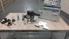 Like new Festool Router 1010 with cutters