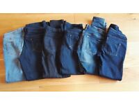 Bundle of maternity jeans