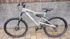 RockRider 6.3 Mountain Bike Full Suspension Size 'M'