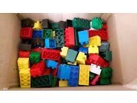 Mega Bloks Building Bricks, Duplo Compatible