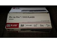 LG BP530R 3D Blu-Ray player (As New)