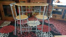 Table & 2 Chairs Bistro ..Exellent Condition