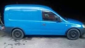 Vauxhall combo diesel turbo