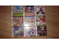 Dsi XL Console with 9 games